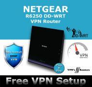 NETGEAR R6250 DD-WRT VPN ROUTER REFURBISHED