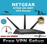 NETGEAR R7000 DD-WRT VPN ROUTER REFURBISHED