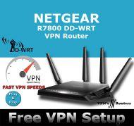 NETGEAR R7800 X4S DD-WRT VPN ROUTER