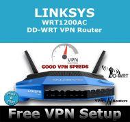 LINKSYS WRT1200AC DD-WRT VPN ROUTER