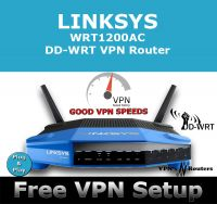 LINKSYS WRT1200AC DD-WRT VPN ROUTER