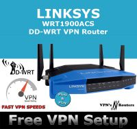 LINKSYS WRT1900ACS DD-WRT VPN ROUTER REFURBISHED