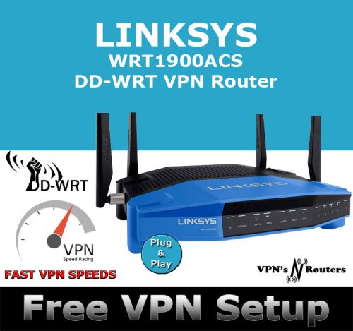 LINKSYS WRT1900ACS DD-WRT VPN ROUTER